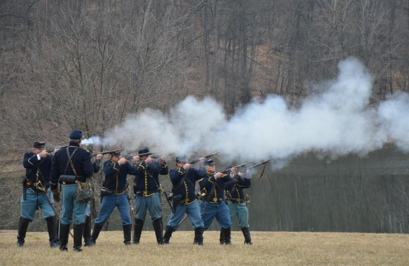 Civil ear reenactment at The Lodges at Gettysburg.