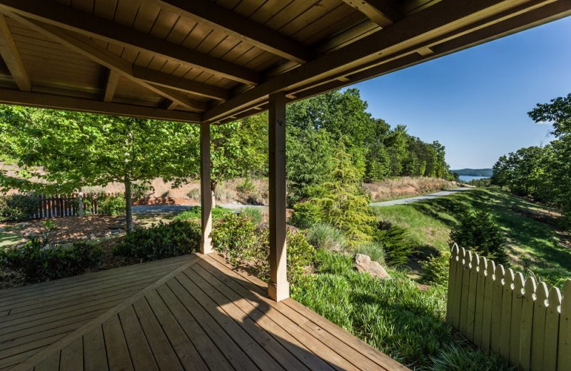 View from Mountain Oasis Cabin Rentals.