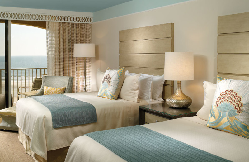 Two bed guest room at Omni Amelia Island Plantation.