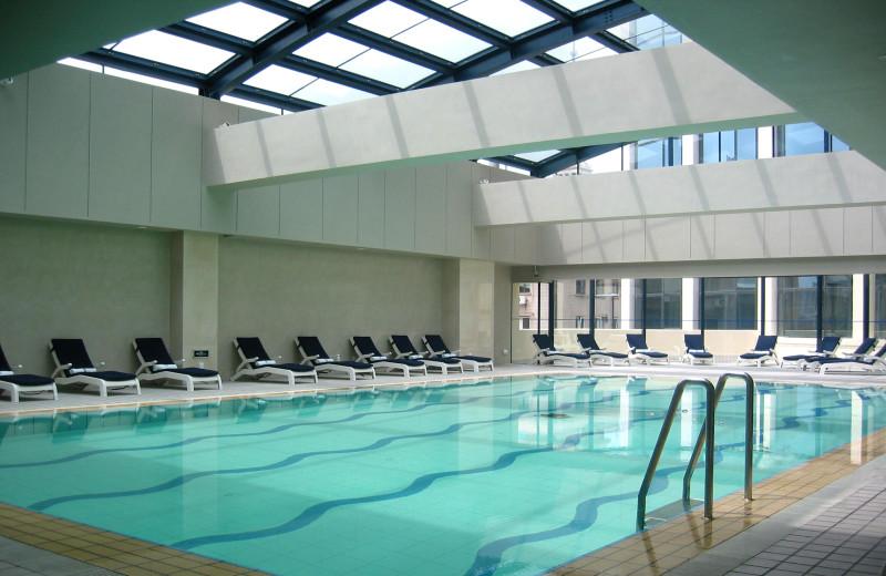 Indoor pool at Shanghai JC Mandarin.