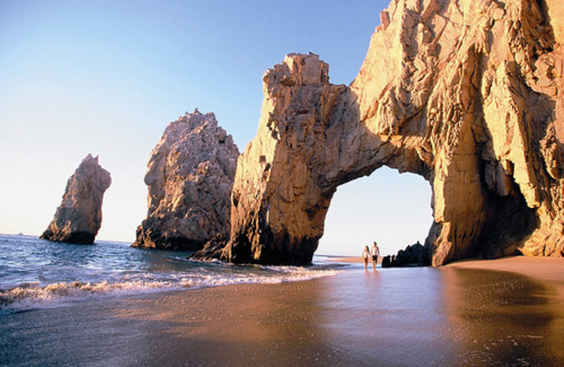 Scenic walks at Hilton Los Cabos Resort.