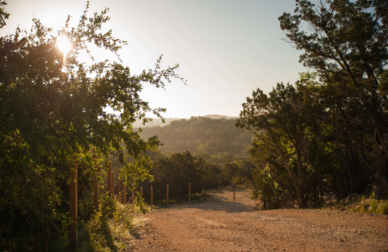 Scenic view at Hill Country Casitas.