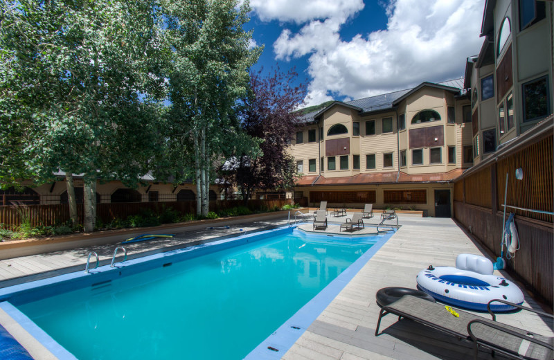 Rental pool at Accommodations in Telluride.