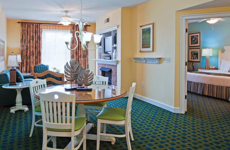 Guest suite at Holiday Inn Club Vacations South Beach Resort.