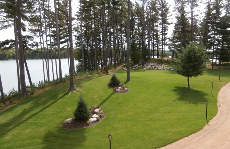 View from The Beacons of Minocqua.