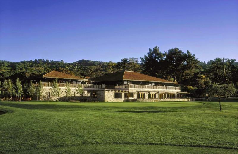 Exterior view of Quail Lodge Resort.