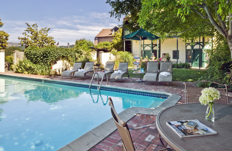 Outdoor pool at Maison Fleurie, A Four Sisters Inn.