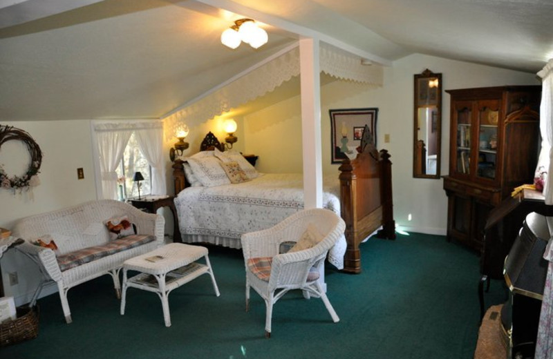 Guest room at Meadow Creek Ranch Bed & Breakfast.