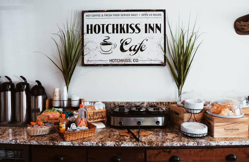 Dining at Hotchkiss Inn.