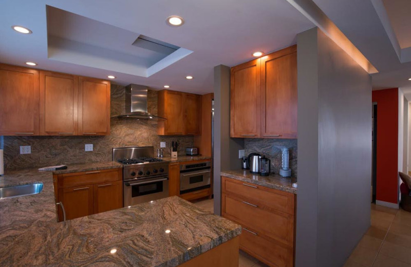 Rental kitchen at Sundance Villas.