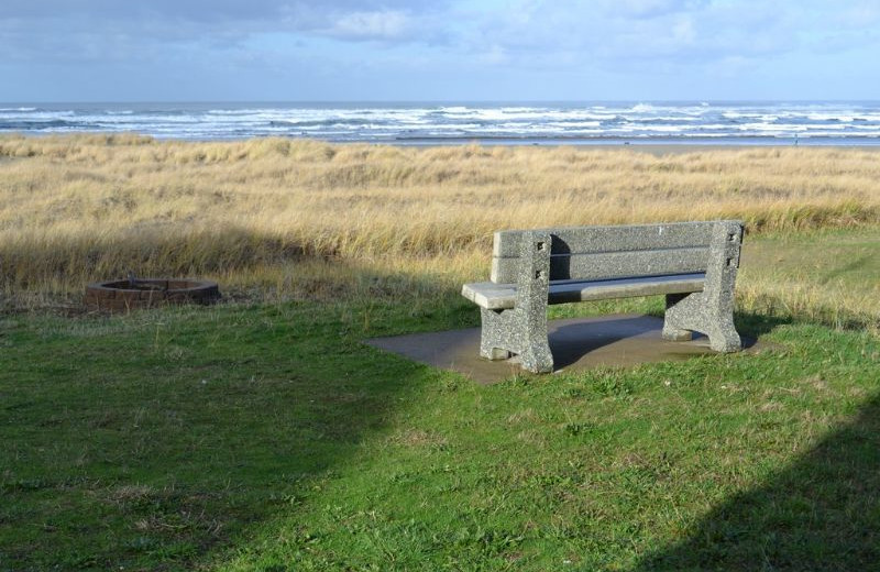 View from vacation rental at Oregon Beach Vacations.