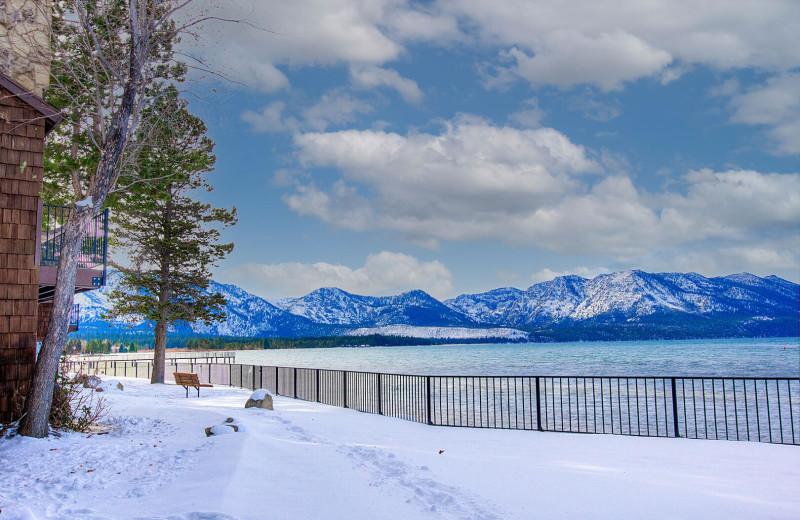 Rental exterior at Lake Tahoe Accommodations.