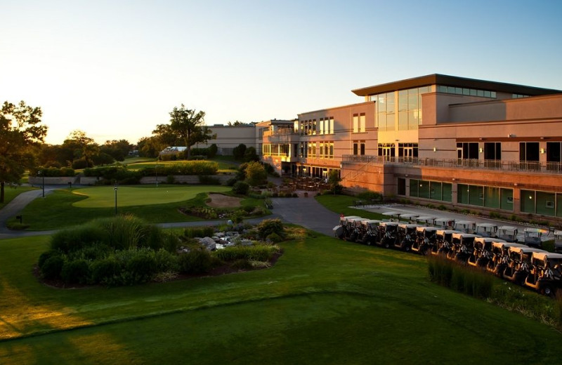 Exterior view of Eaglewood Resort & Spa.