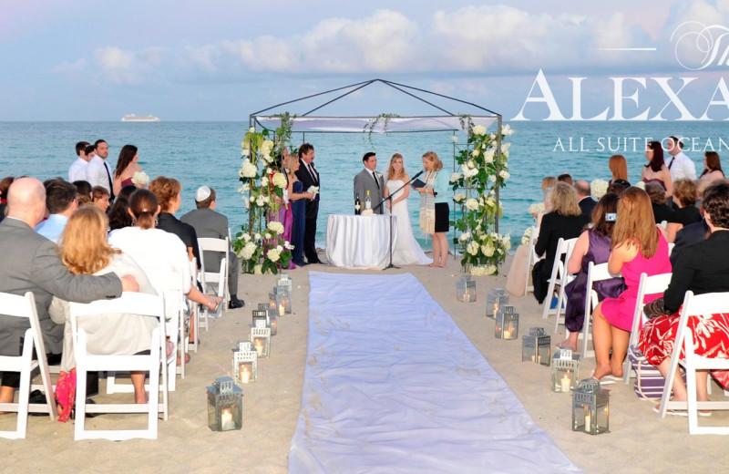 Weddings at The Alexander All Suite Oceanfront Resort.