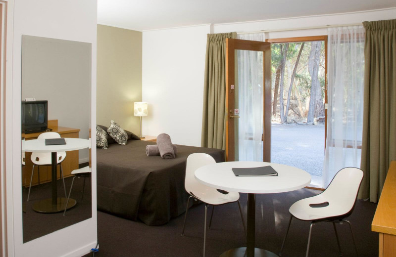 Guest room at Wilpena Pound Resort.