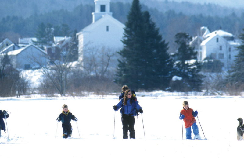 Ski at Stowe Country Homes.