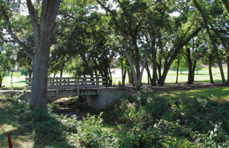 Bridge at Napa Valley Resort at Silverado.