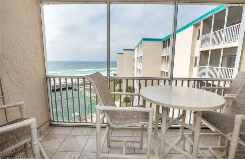 Balcony at Holiday Isle Properties - Holiday Surf & Racquet 614.