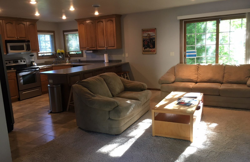 Rental interior at Lundquist Realty Vacation Rentals.