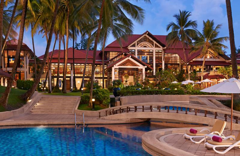Exterior view of Dusit Laguna Resort.