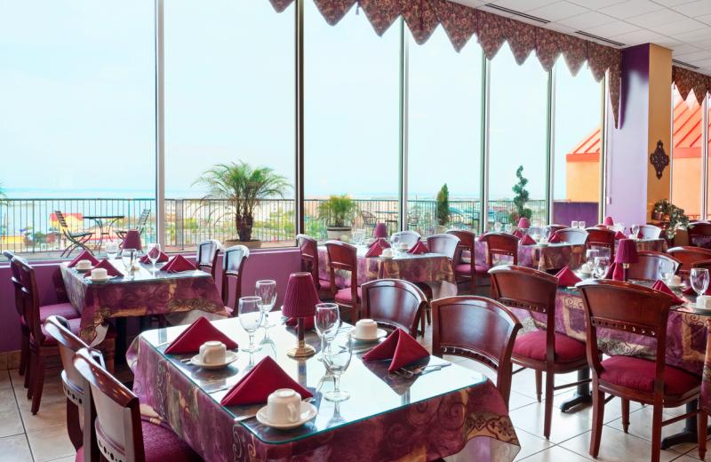 Dining room at Grand Hotel & Spa.