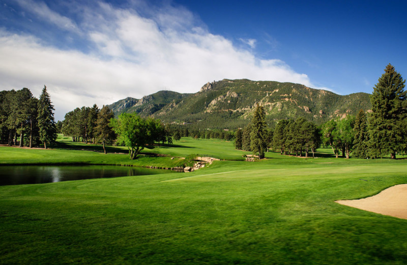 Golf at The Broadmoor.