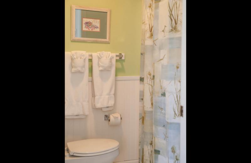 Rental bathroom at The Winds Resort Beach Club.