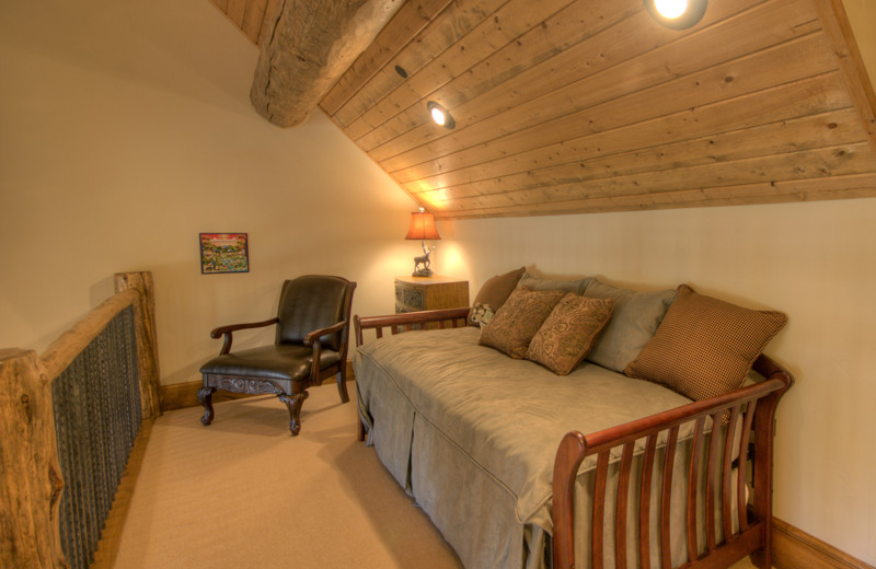 Rental loft at Big Sky Luxury Rentals.