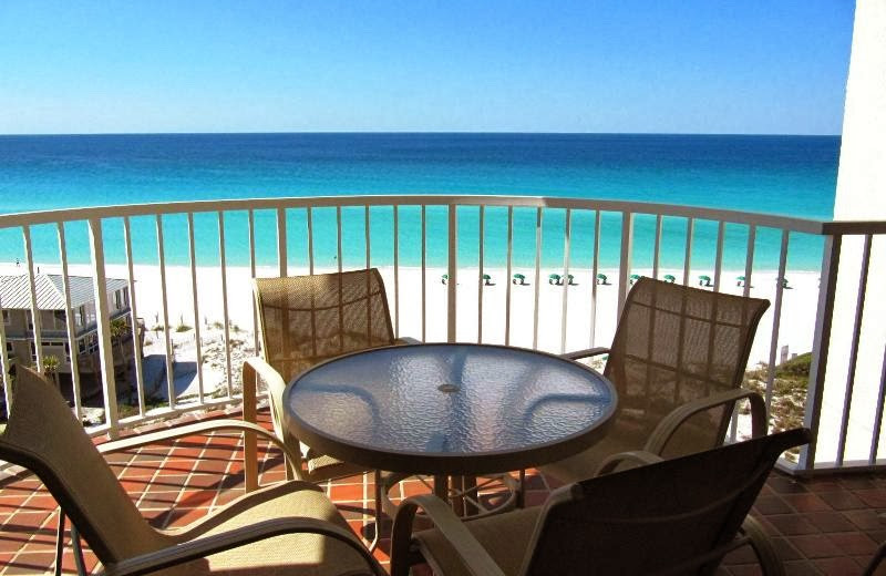 Balcony view at Newman-Dailey Resort Properties, Inc.