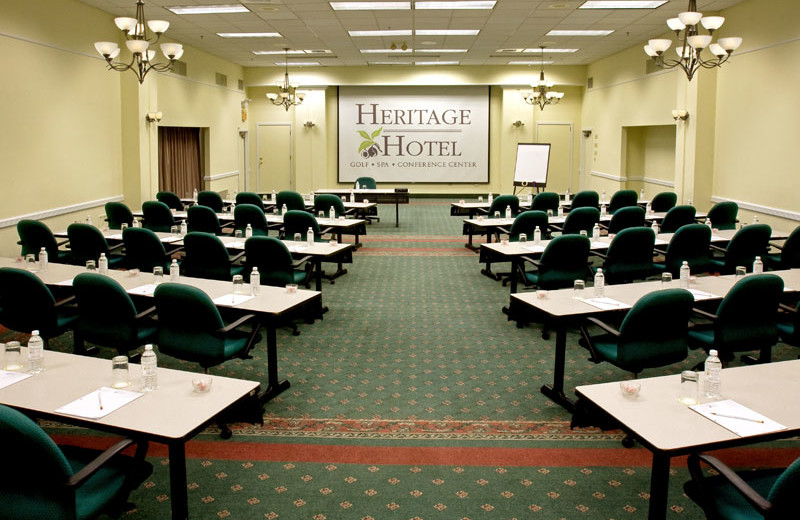 Meeting room at The Heritage Hotel.