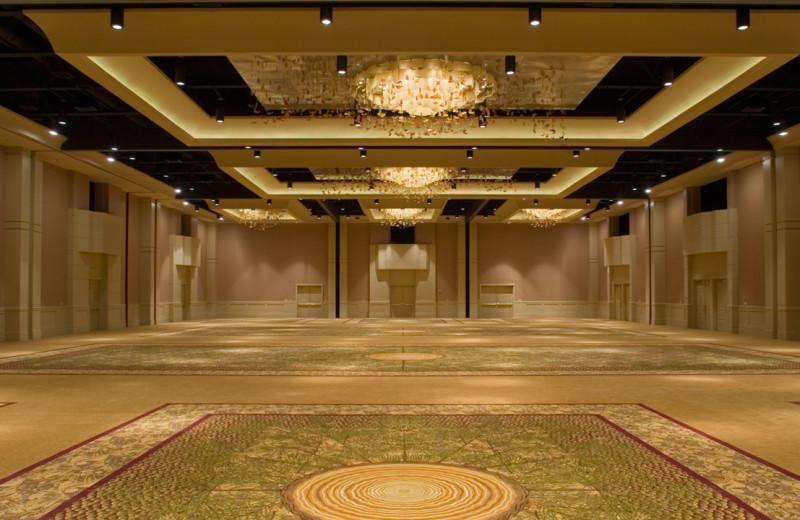 Ballroom at Hyatt Regency Lost Pines Resort and Spa.