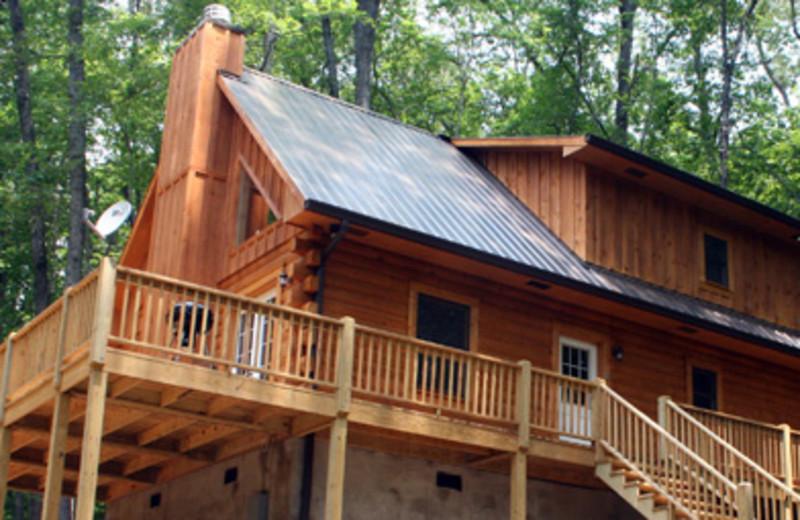 Spacious cabin at Rock Creek Cabins
