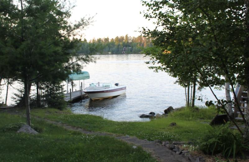 Lake View at Living Room at  Caroline's Cottage