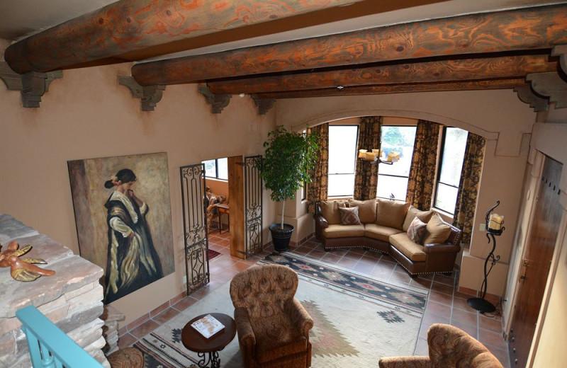 Lobby at Casa Sedona.