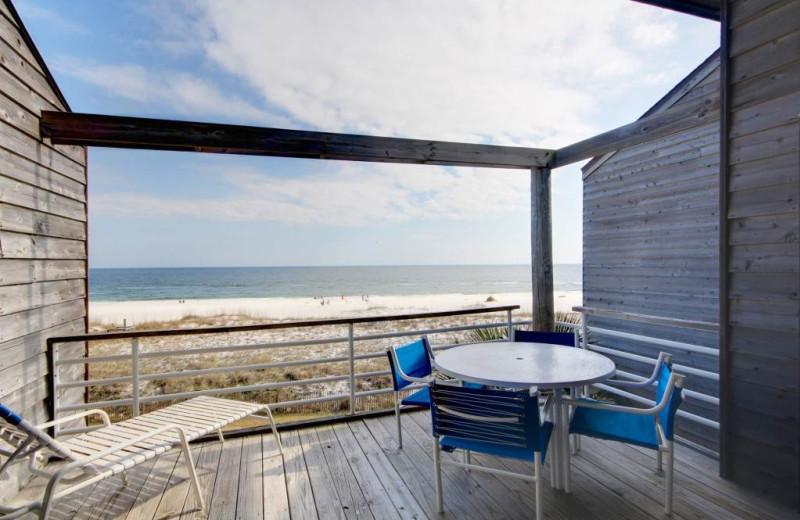 Porch view at Perdido Key Resort Management.