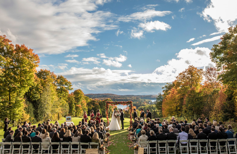 Weddings at Deerhurst Resort.