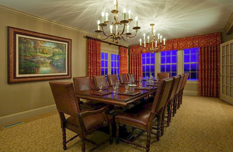 Meeting room at Mountain View Grand Resort & Spa.