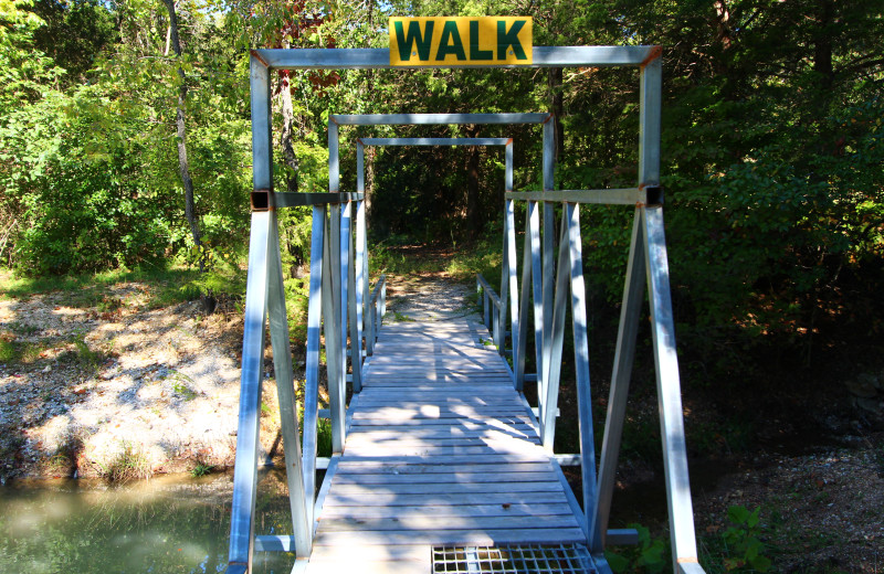 Explore the area at Ozark Cabins.