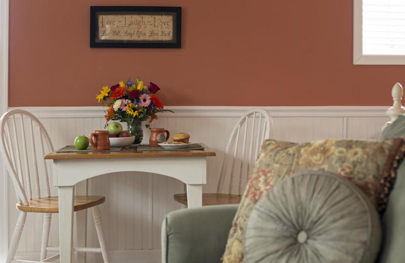 Cottage interior at 1825 Inn Bed & Breakfast