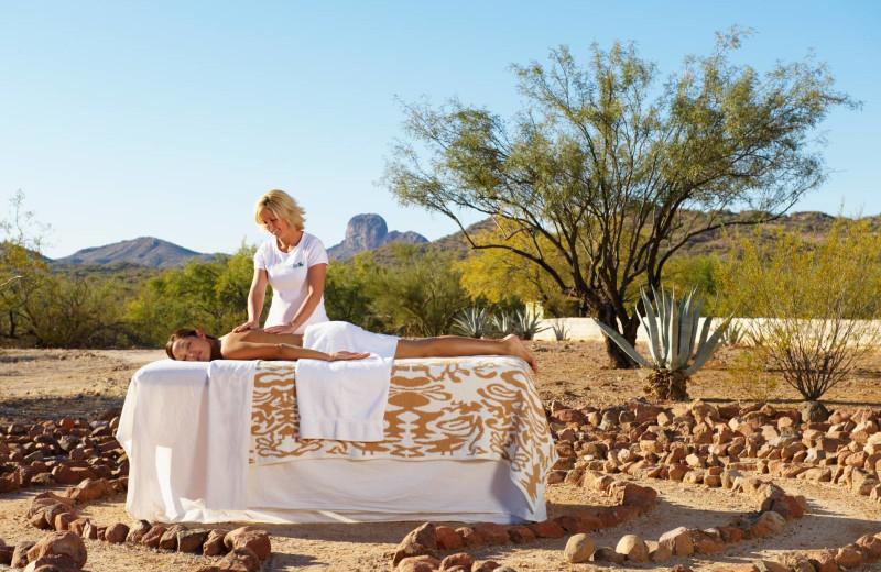 Massage at Rancho De Los Caballeros.