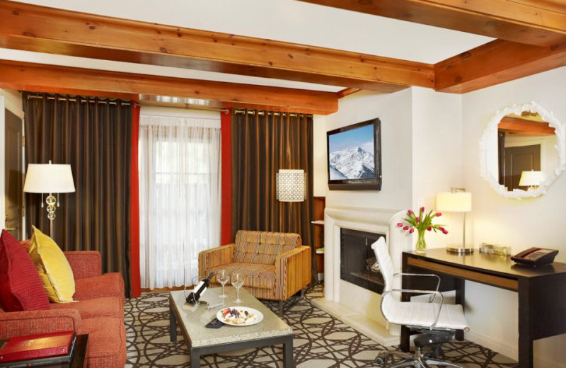 Suite Interior at Sky Hotel