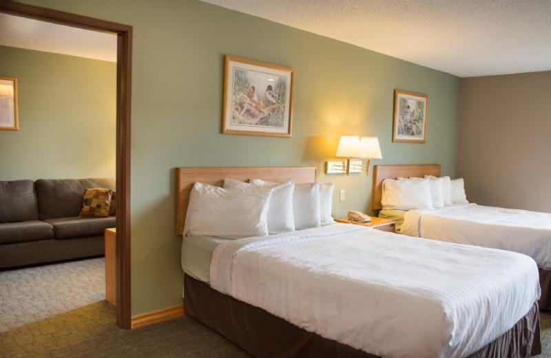 Guest room at Cliffside Resort.