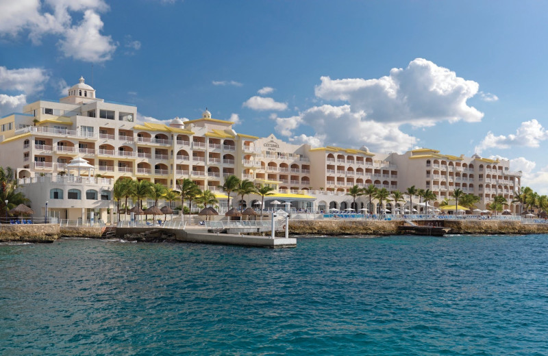 Exterior view of Cozumel Palace.