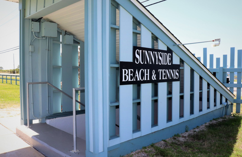 Underground tunnel at Sunnyside Resort Rental Company.