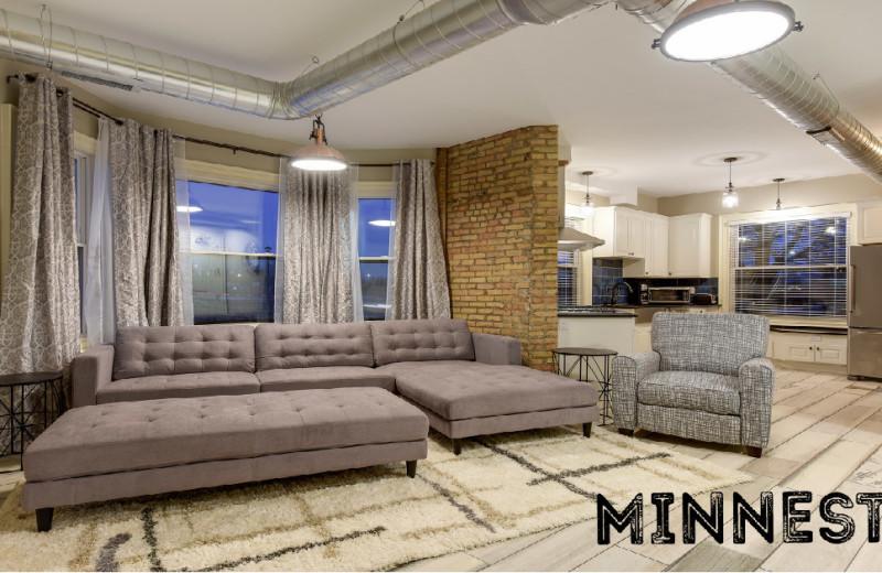 Rental interior at Minnestay.