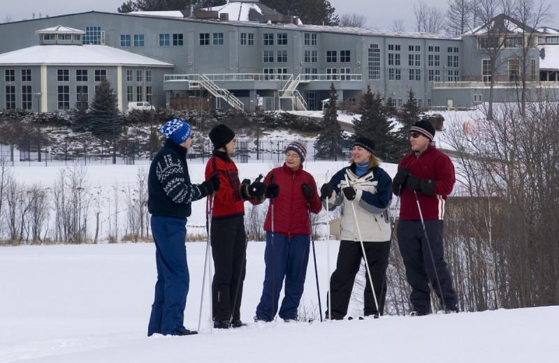 Skiing at Deerstalker Resort.