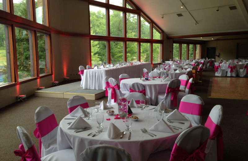 Wedding reception at Devils Head Resort & Convention Center.