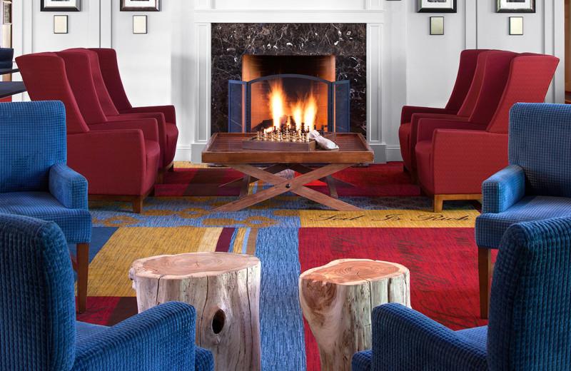 Lounge at Hyatt Regency Lost Pines Resort and Spa.