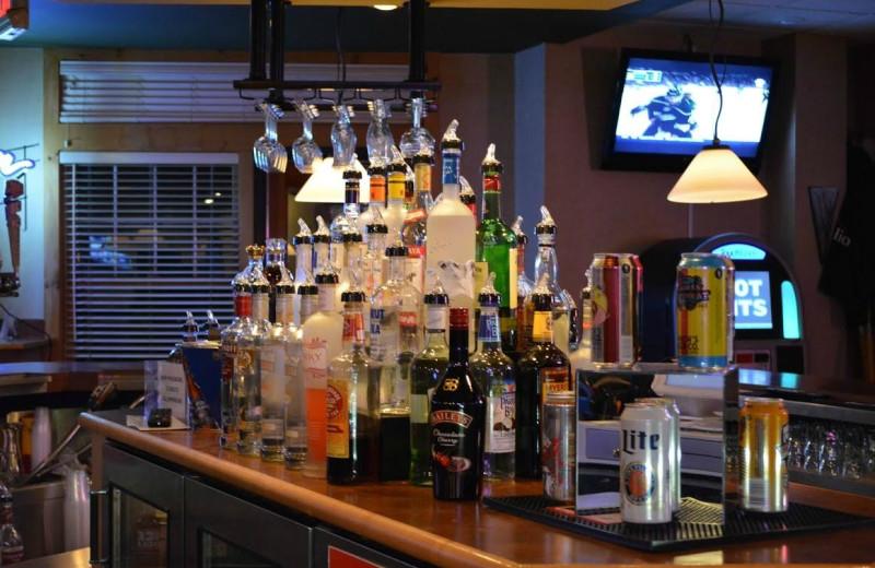 Bar at The Lodge at Giants Ridge.