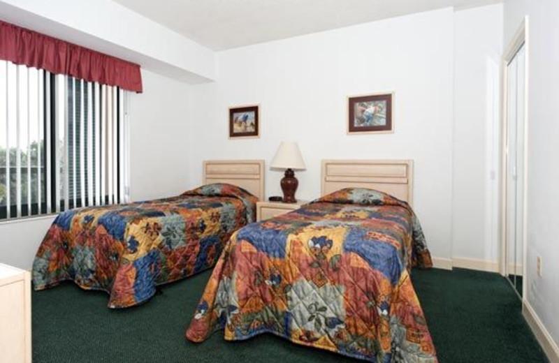 Double Beds at Waterside Resort